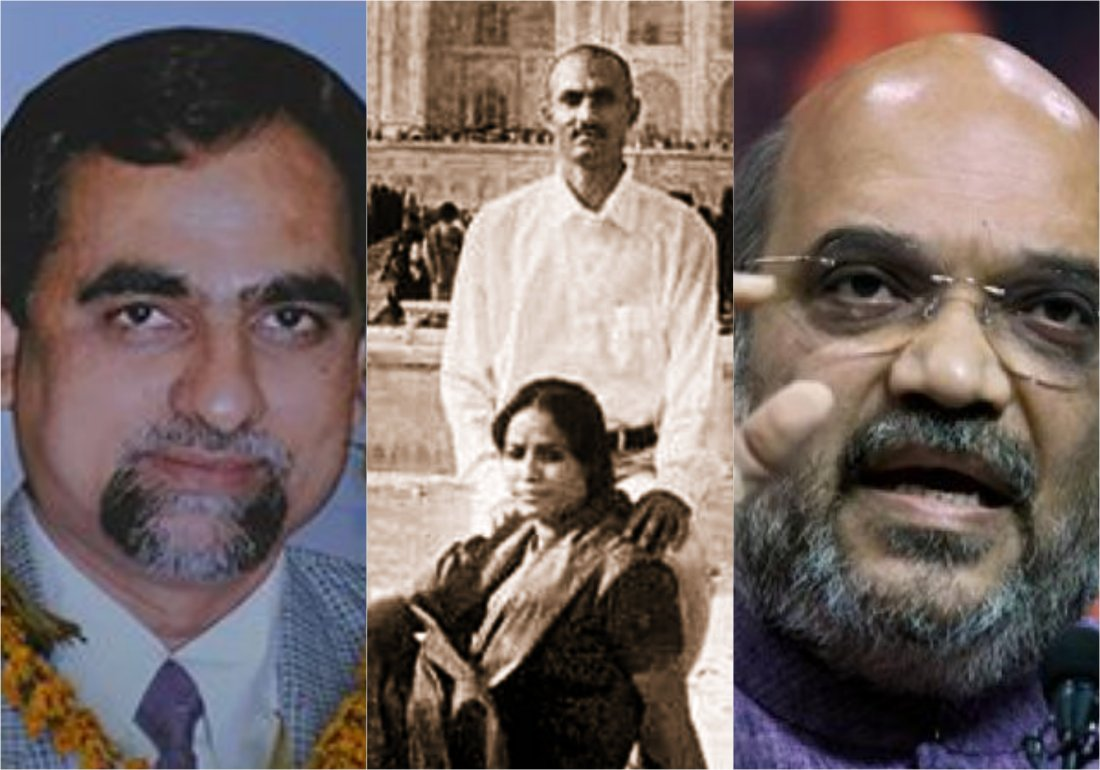 Image result for photo of amit shah and judge loya